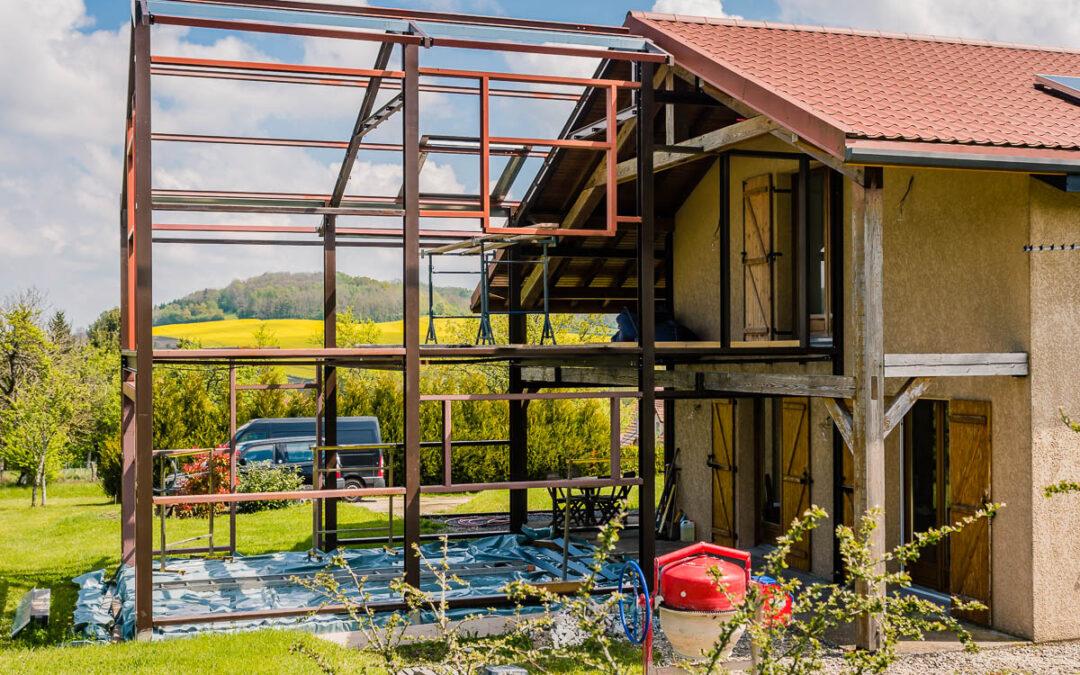 Construction métallique en Lorraine