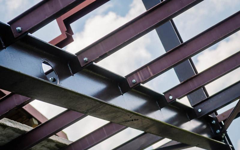 Charpente métallique par Méto Constructions dans les Vosges