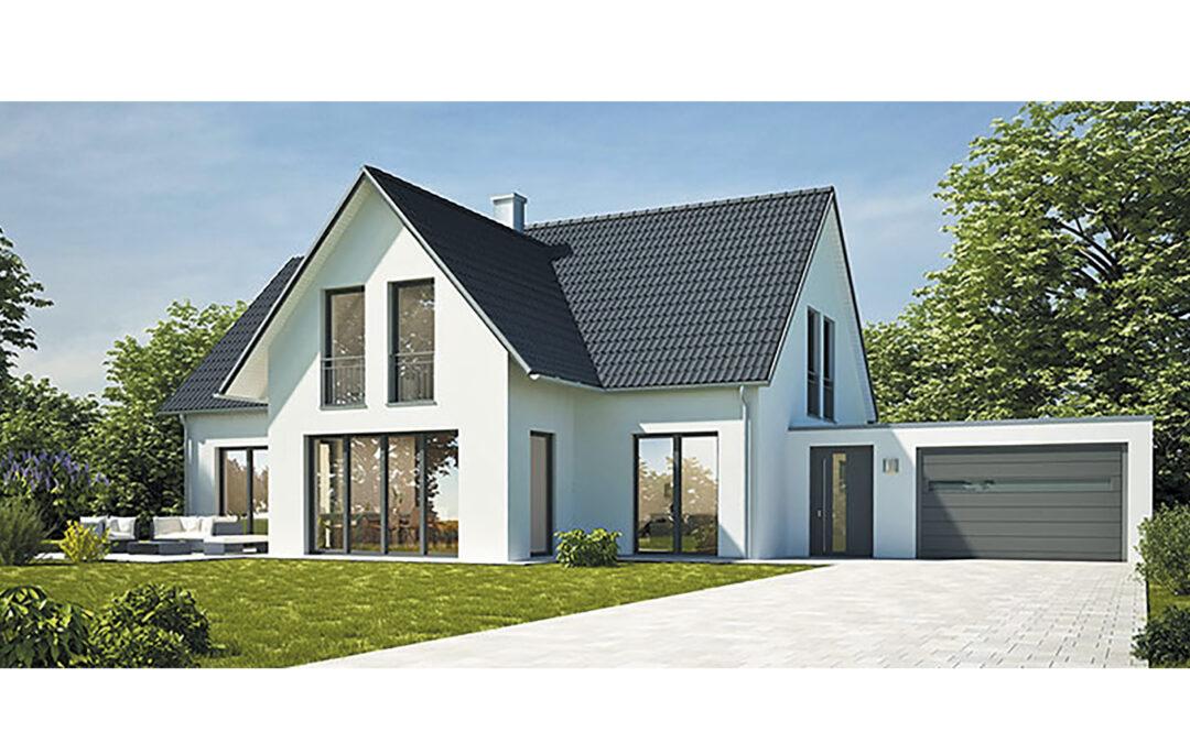 Une maison métallique en Alsace