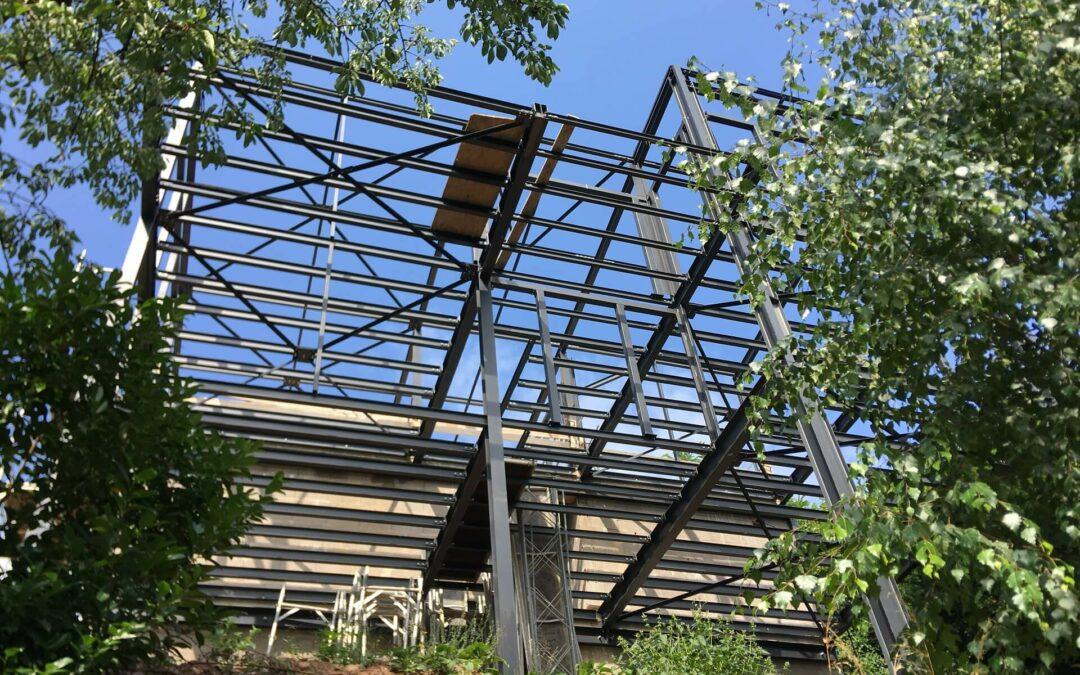 La charpente métallique Grand Est pour vos constructions