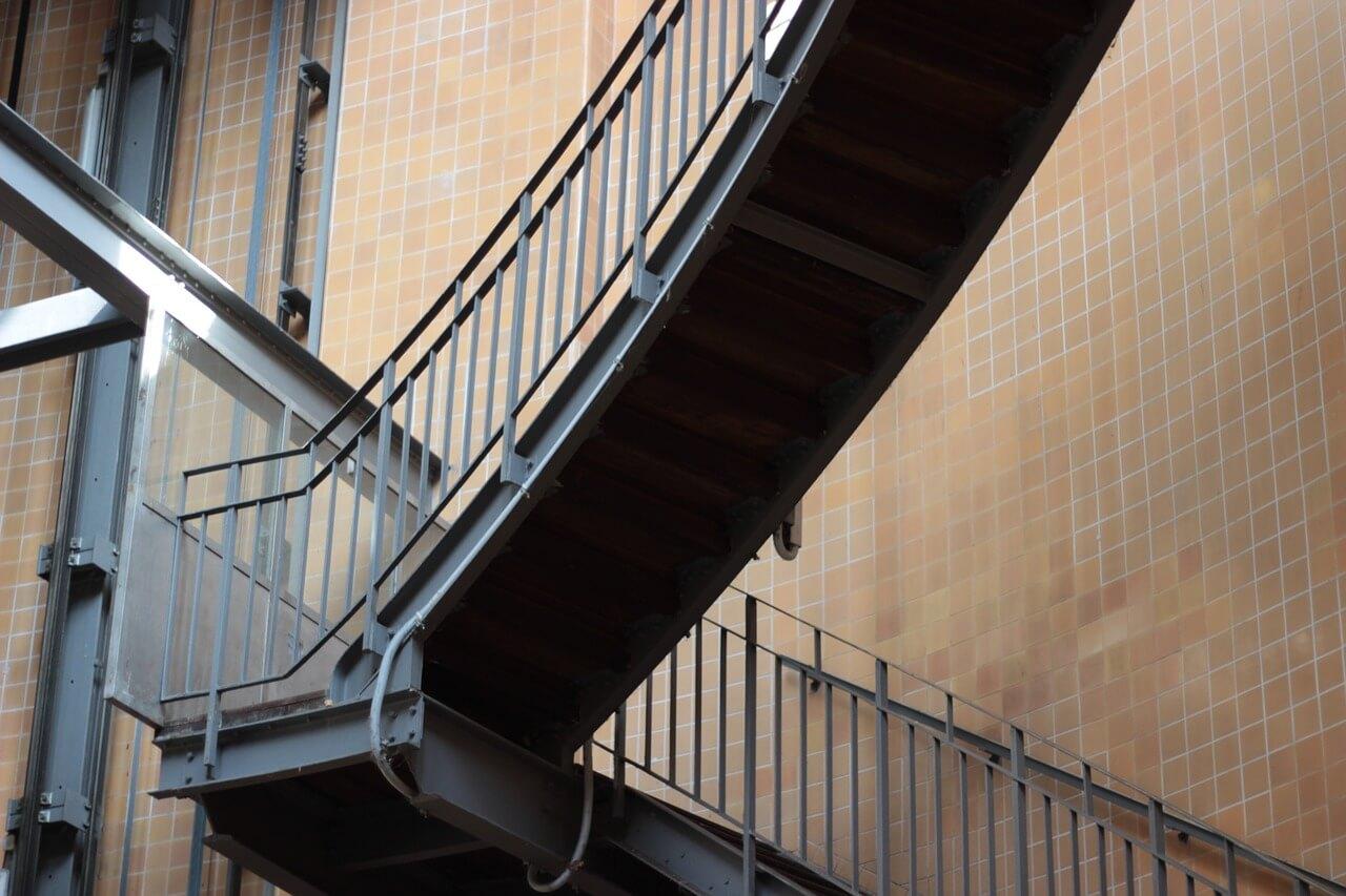 Un escalier métal Grand Est : La tendance !